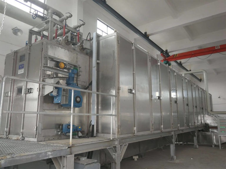 CO2 heat pump belt dryer